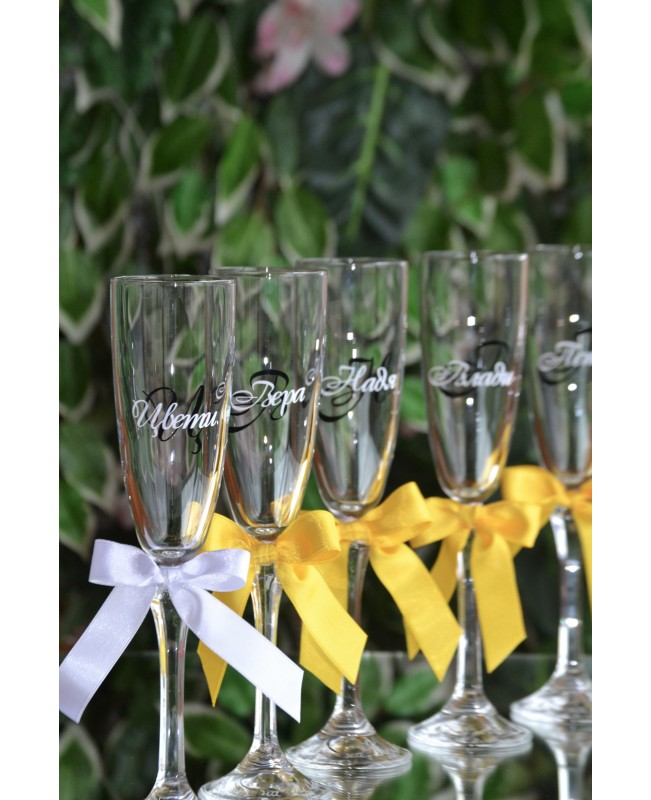 Bridesmaids glasses G 0710