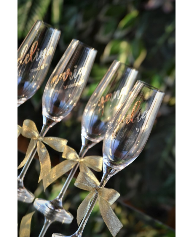 Bridesmaids glasses G 0740