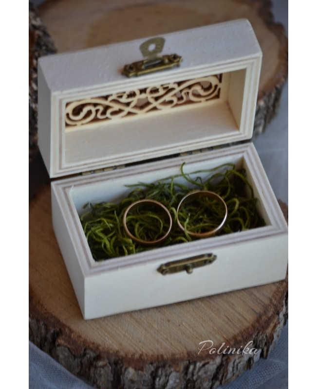 Rustic Ring Box RB06