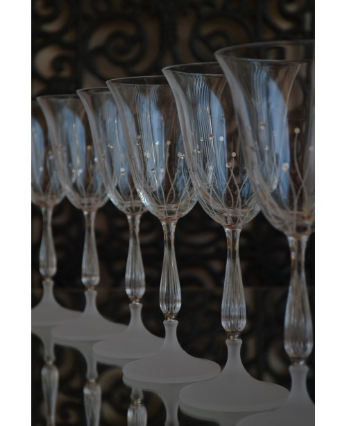 Set of glasses Swarovski 500