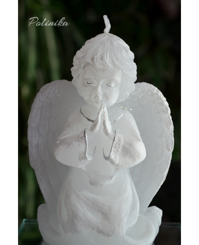 Christening candle  angel CH0102