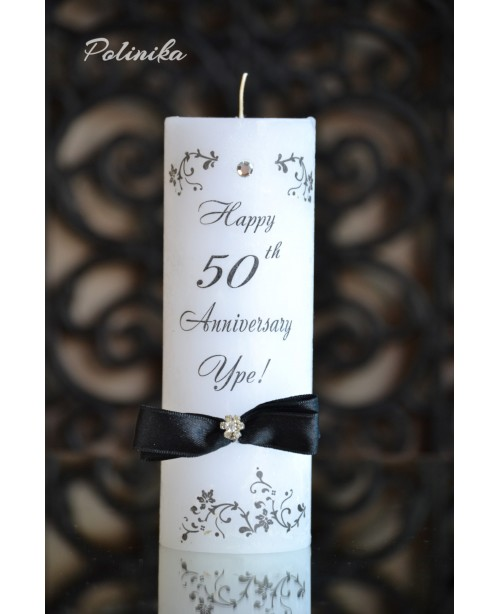 Anniversary candle G0420