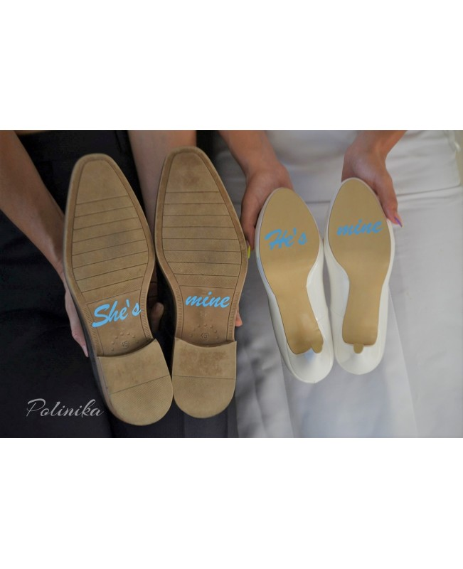 Wedding shoe sticker ST02
