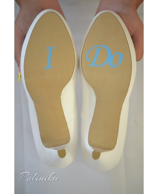 Wedding shoe sticker ST03