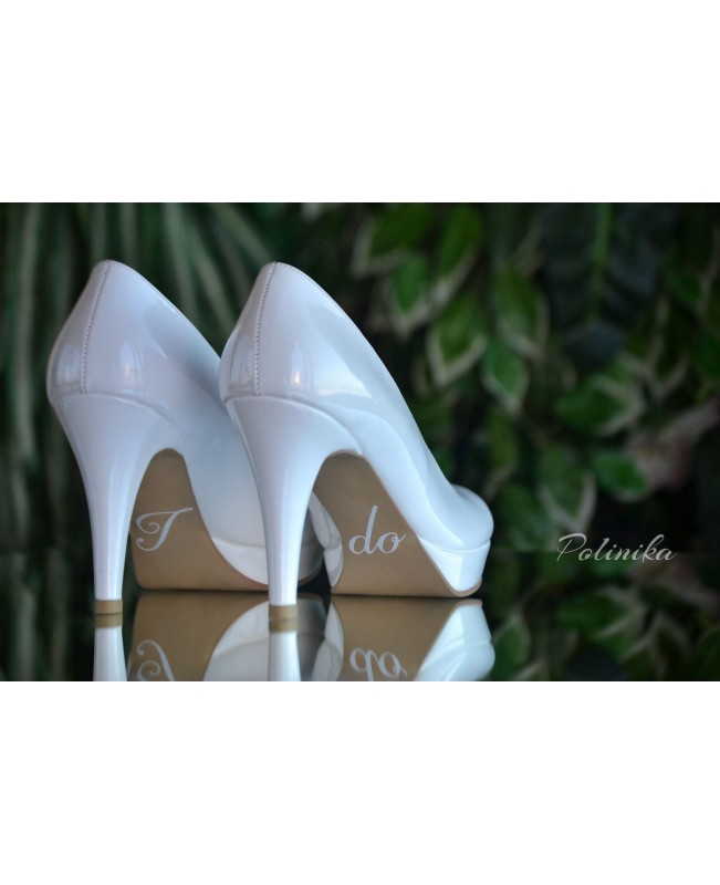 Wedding shoe sticker ST06
