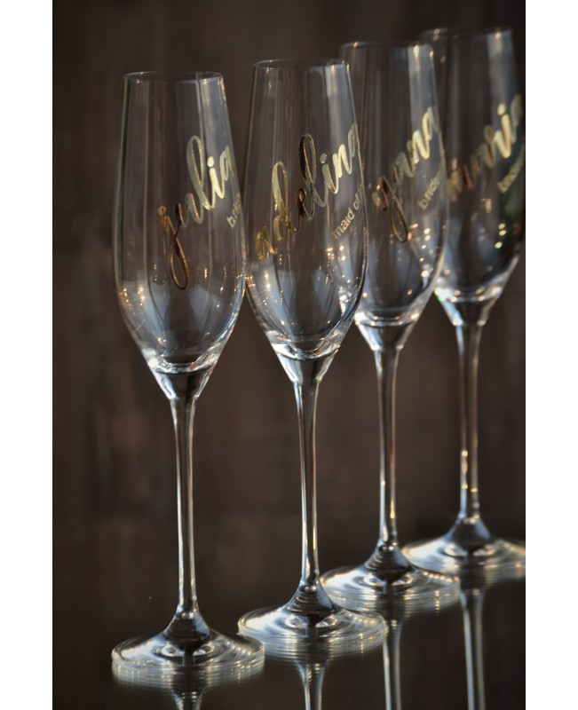 Bridesmaids glasses G0740