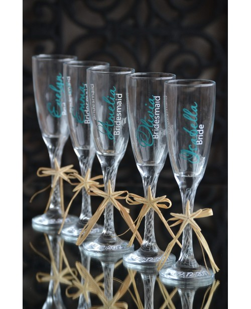 Bridesmaids glasses G0703