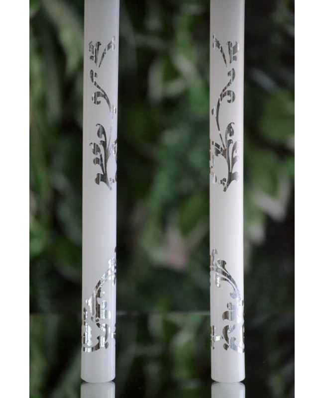 Wedding candles with decoration 0131