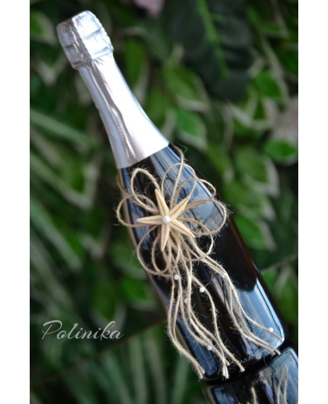 Champagne bottle decoration CH0102